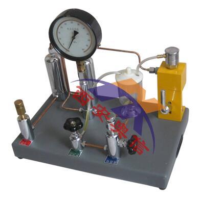 AXYJ-B400 0-40Mpa压力表氧气表校验器 两用压力校验台