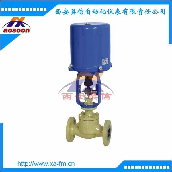 ZDLM-16电动调节阀 4-20mA信号电子式电动调节阀